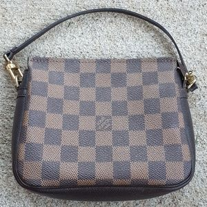Louis Vuitton Damier Trousse Make Up Bag